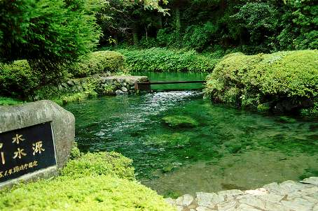 Shirakawa water source